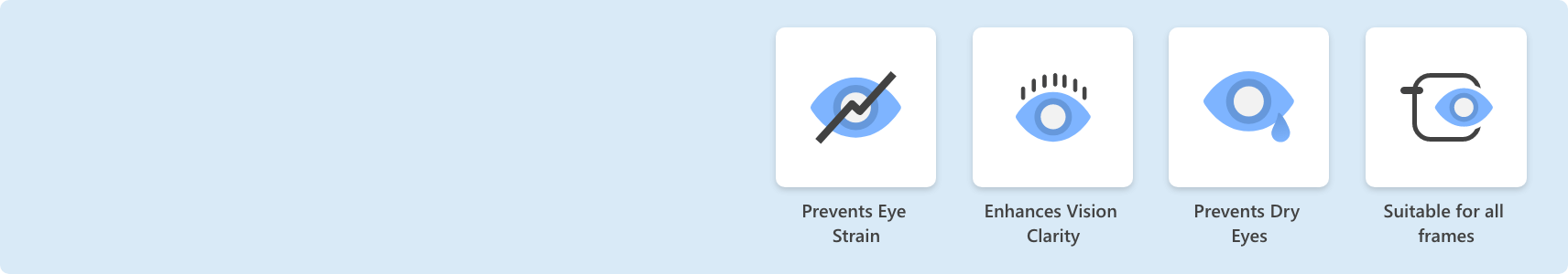 X-Blue Benefits Headaches eye strains