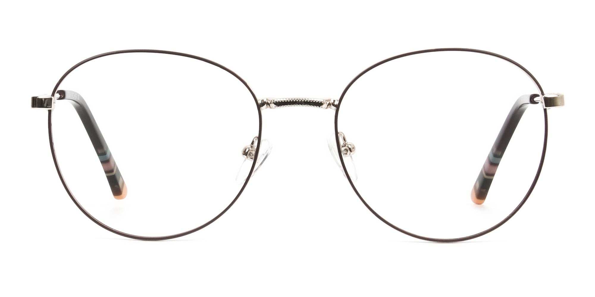 Lightweight Gold & Brown glasses