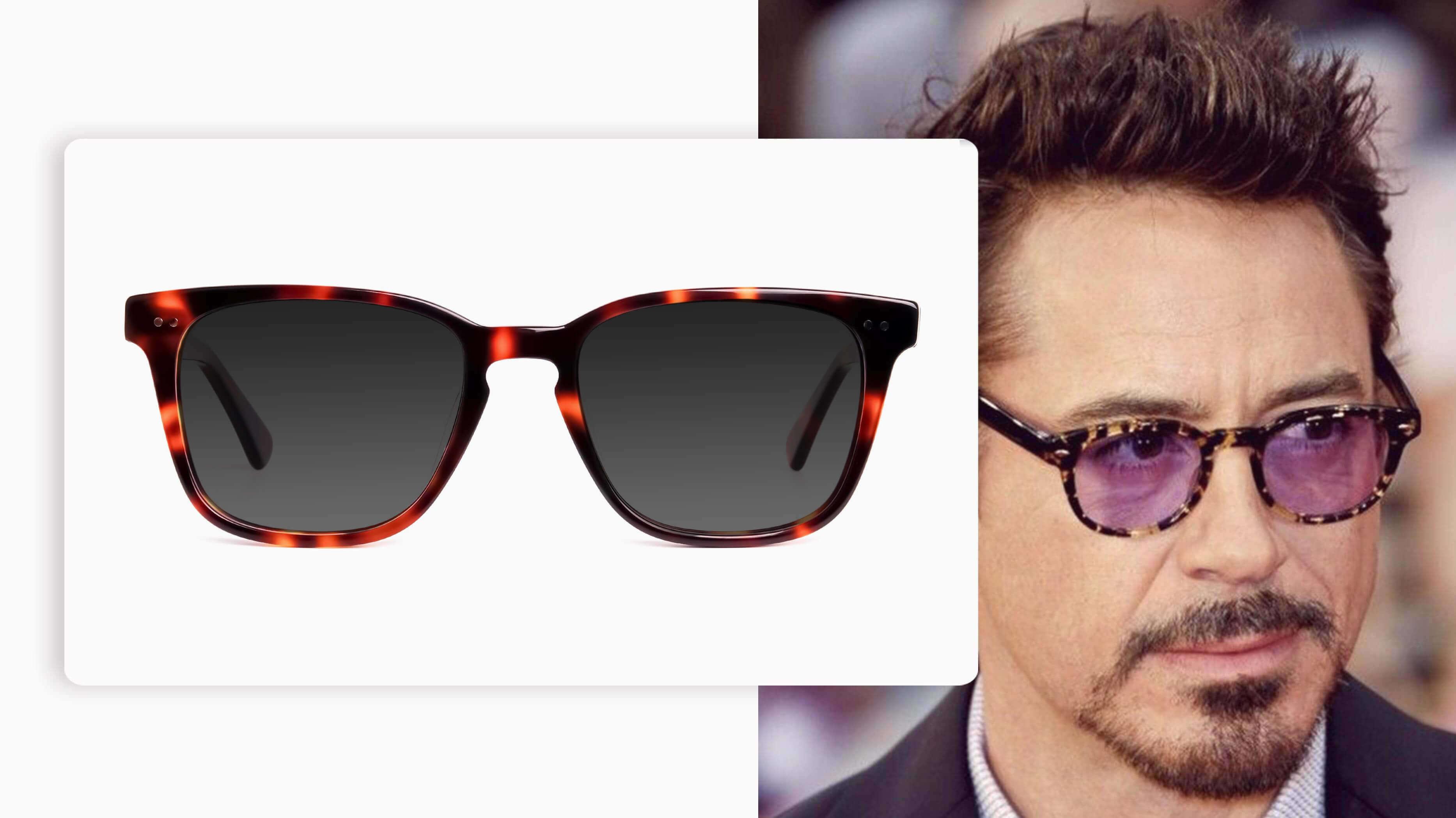 Oversized Square Sunglasses in Tortoiseshell