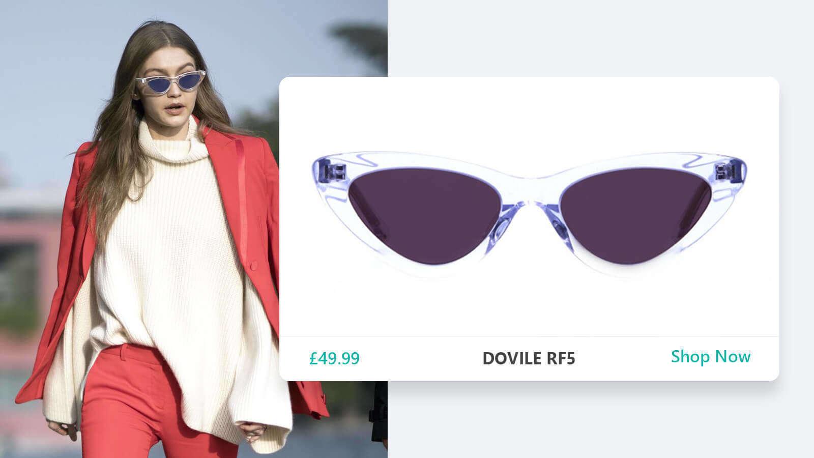 Clear-Frame Sunglasses
