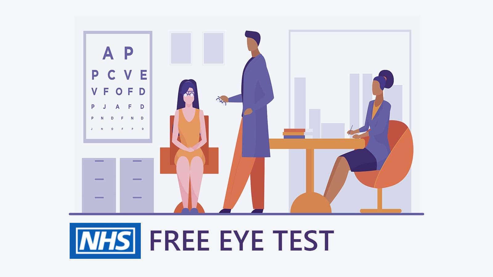 Free NHS eye tes