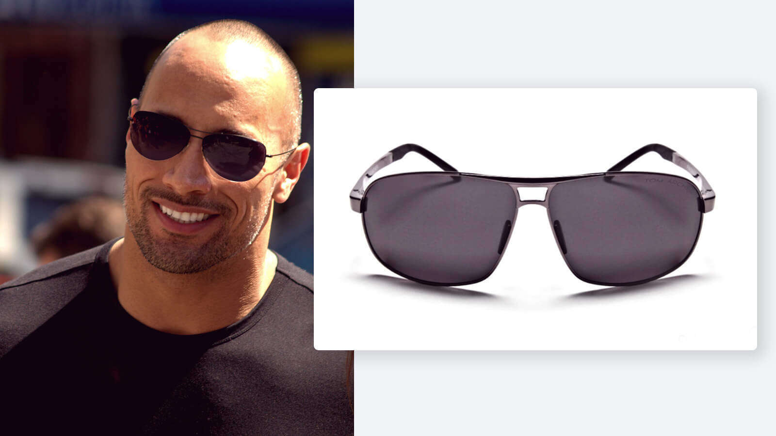 Dwayne Johnson sunglasses