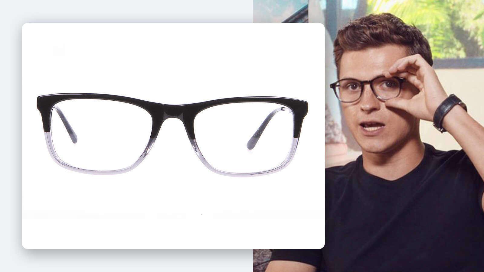 tom holland dual tone glasses
