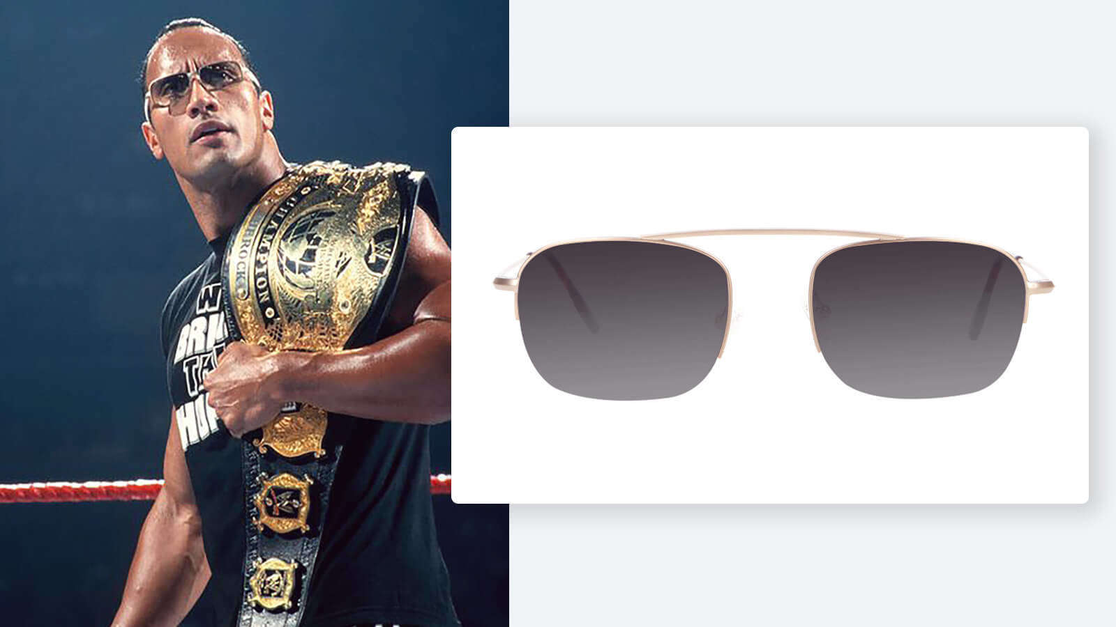 Dwayne Johnson WWE Sunglasses