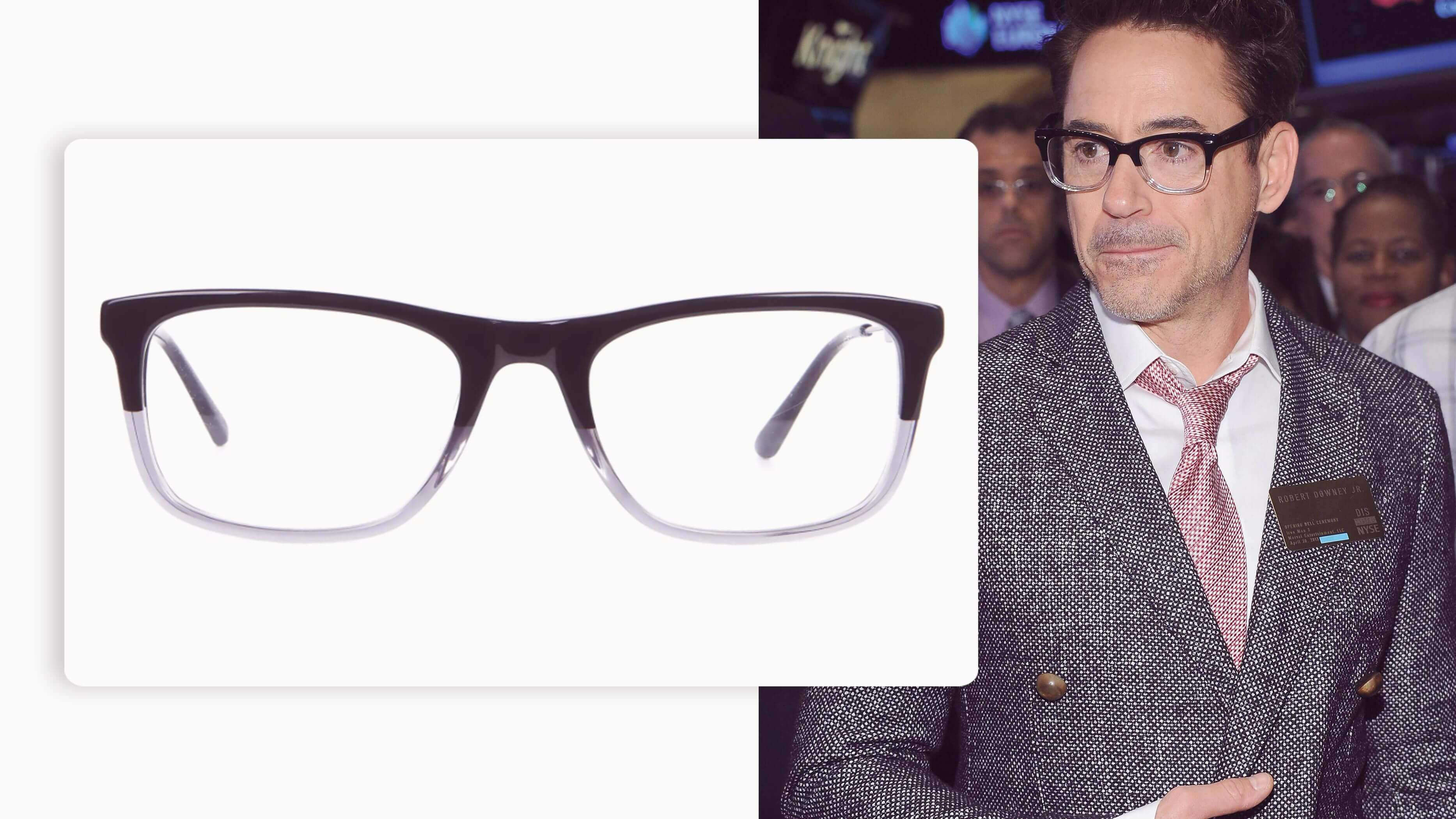 dual tone pair of glasses