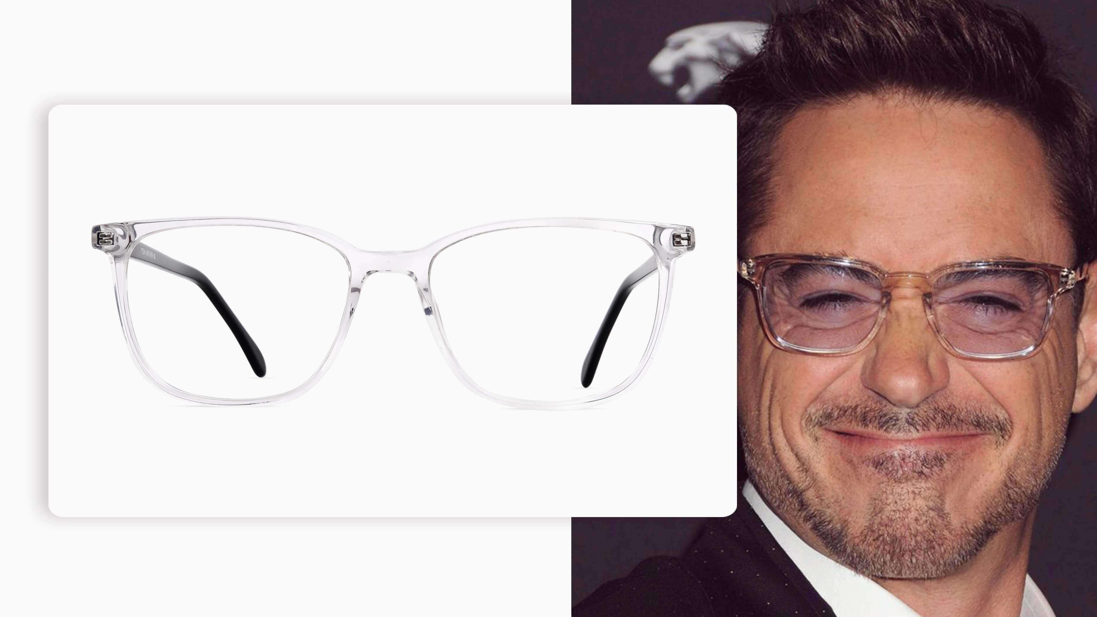 Transparent Glasses in Rectangular