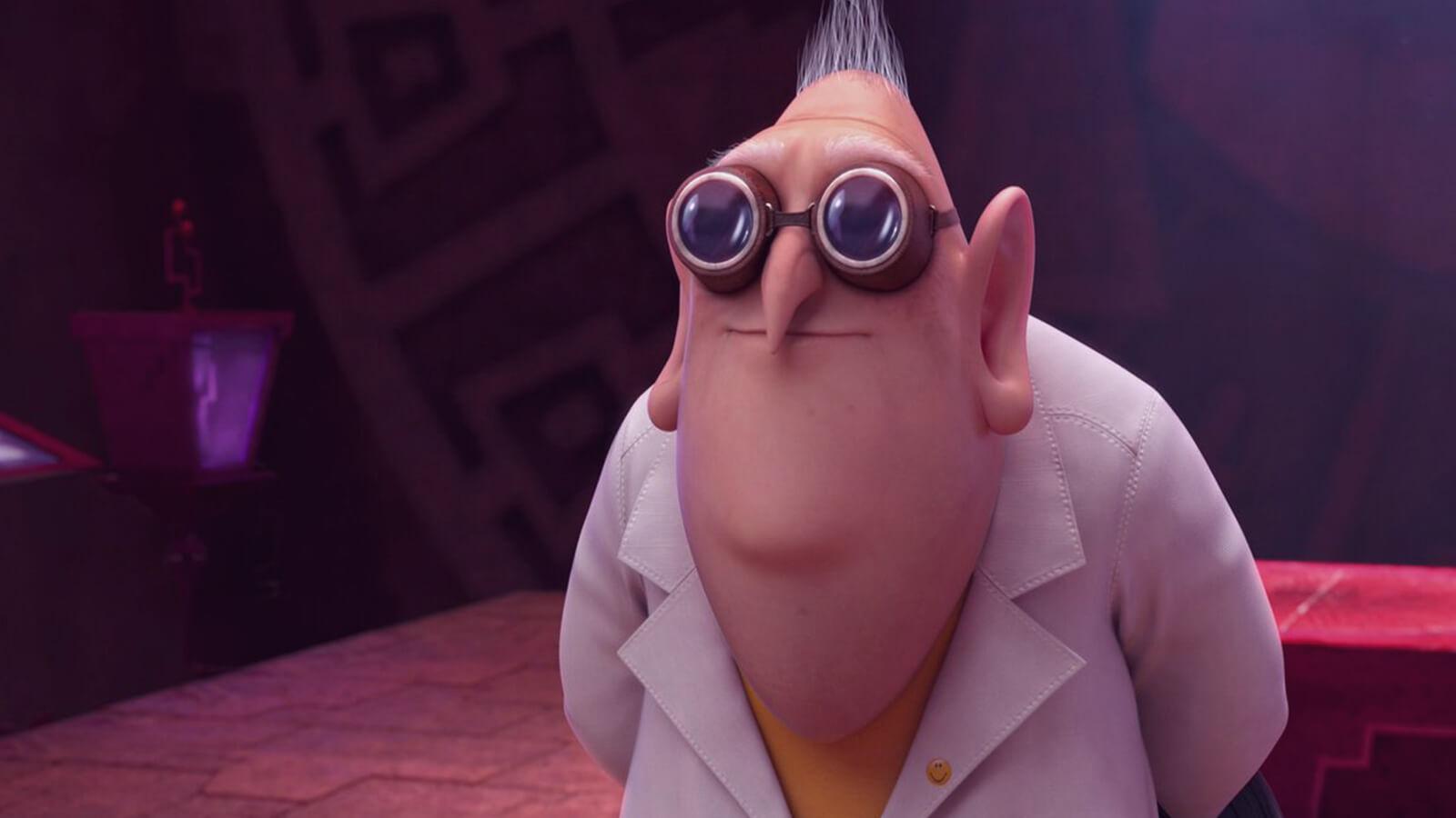 Professor Farnsworth from Futurama cartoon characters with glasses