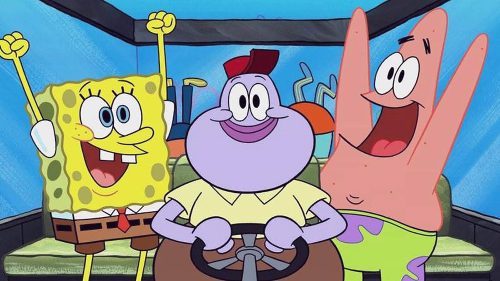 SpongeBob from SpongeBob SquarePants