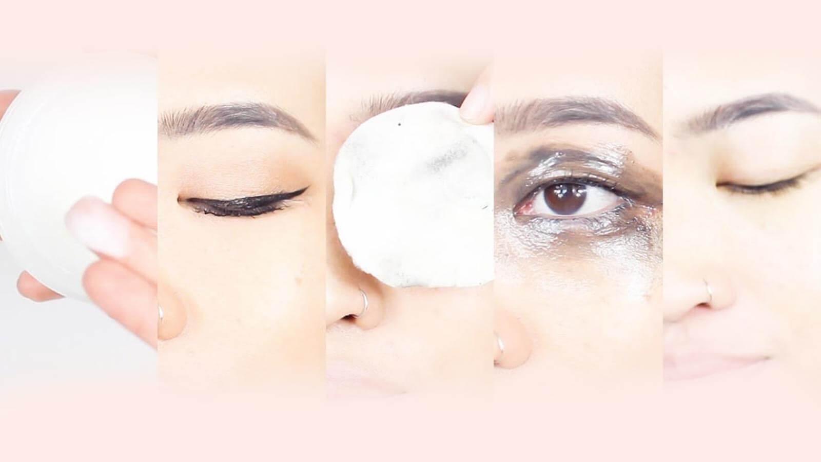 take off waterproof mascara without eye makeup remover