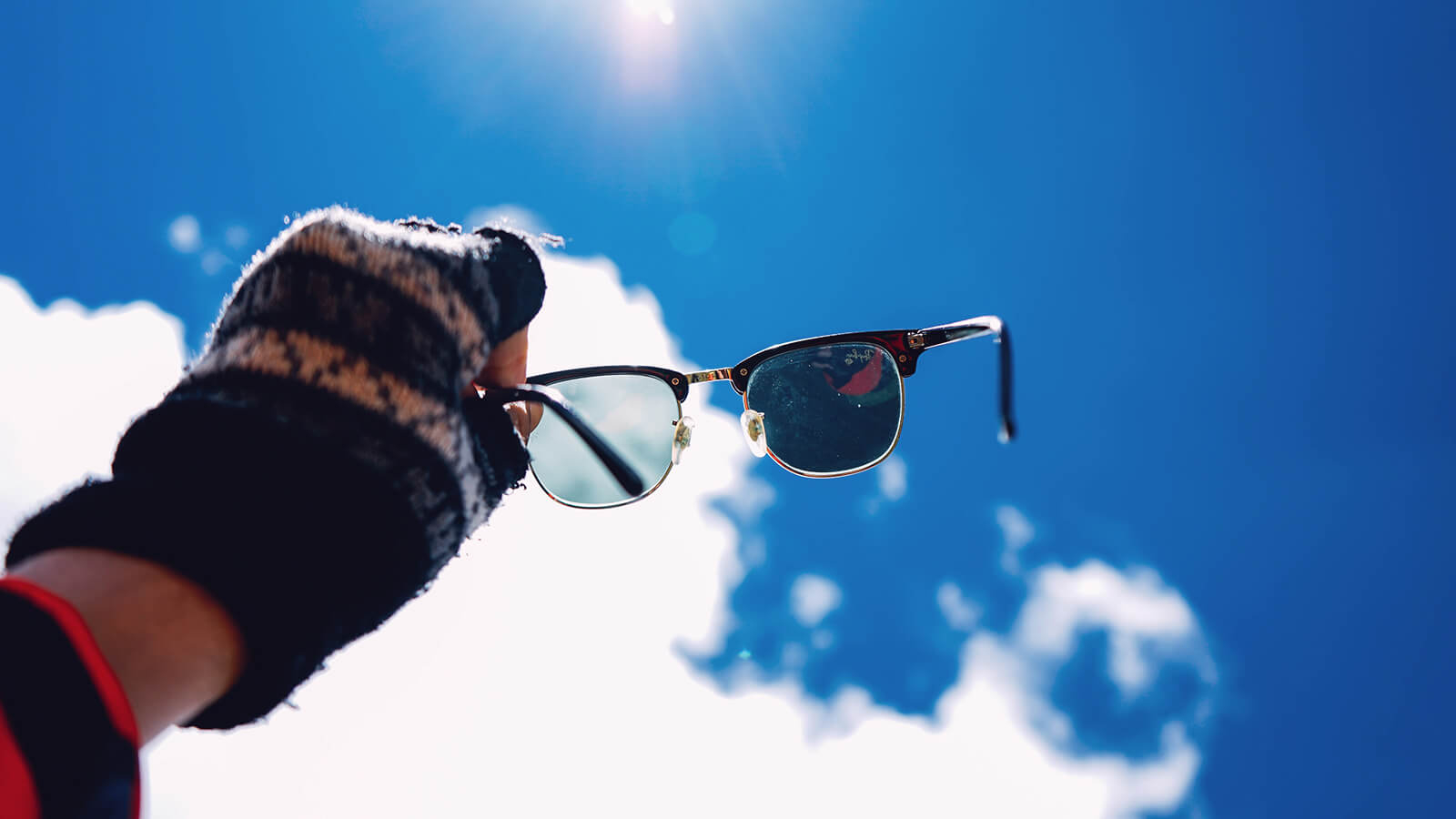 Be certain that your sunglasses are polarised.