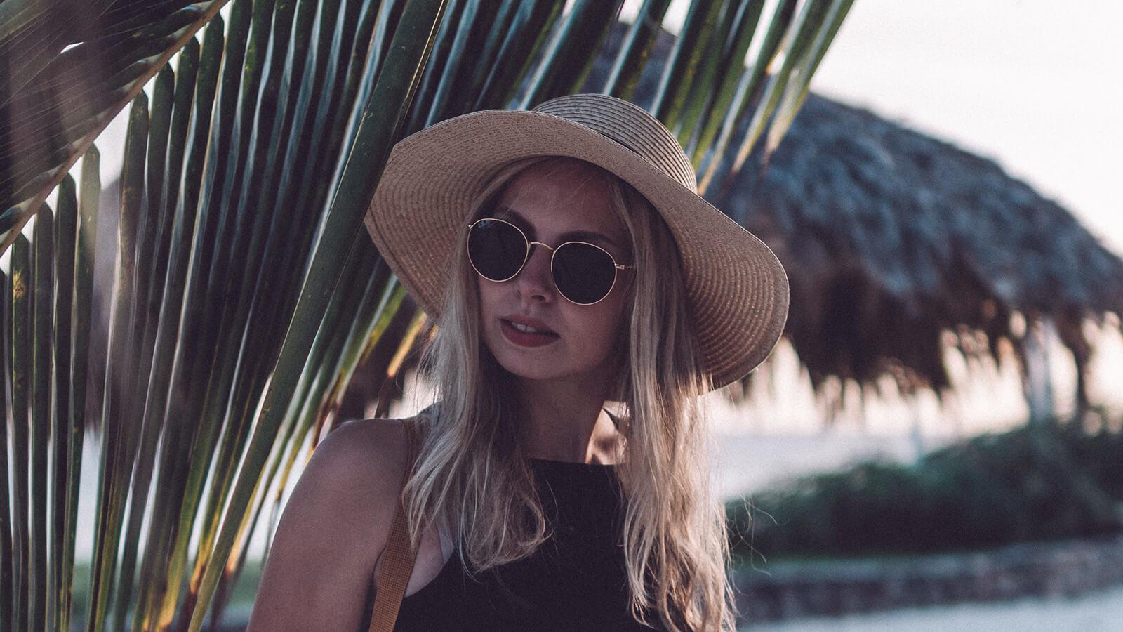 Dark sunglasses vs light tint UV 400 sunglasses.