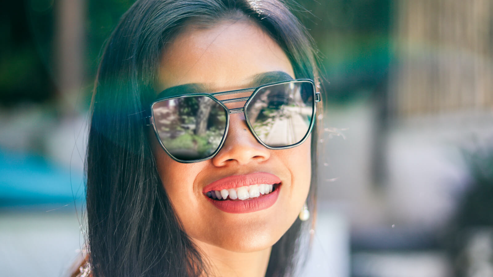 Mirror coated lenses