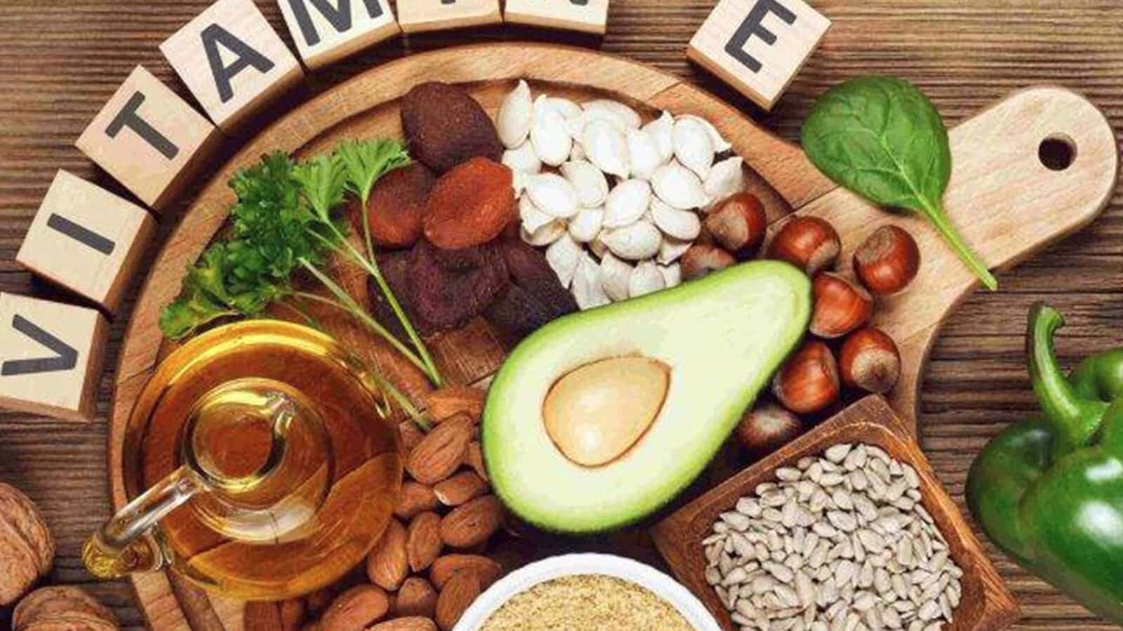 Source of vitamin E
