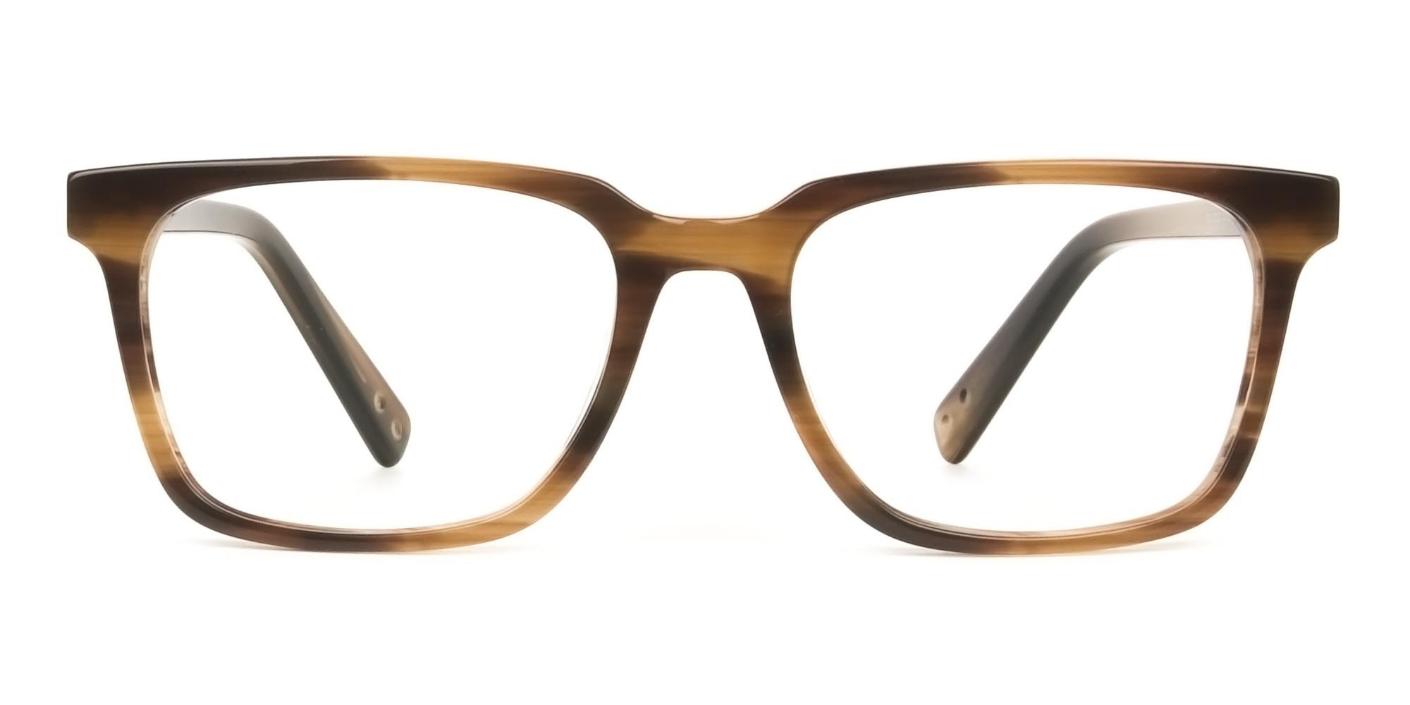 Stripe Brown Acetate glasses
