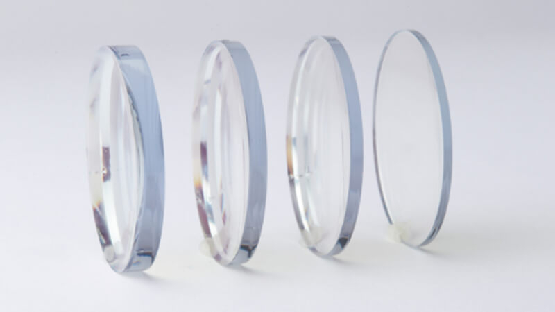 What are high index lenses
