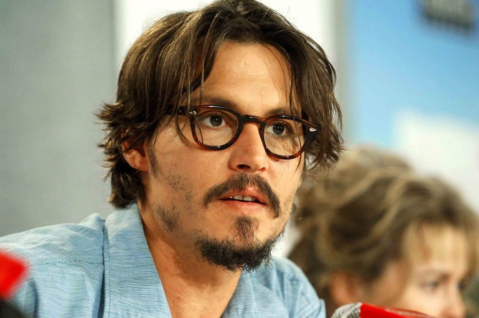 Johnny Depp Style Tortoiseshell Glasses