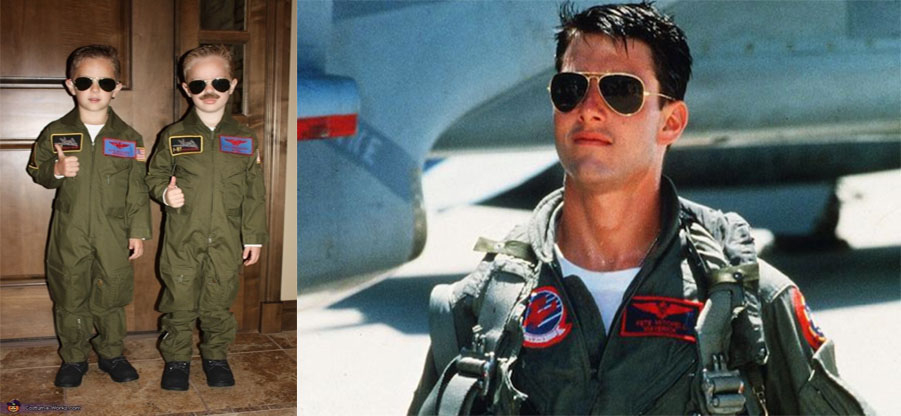 Cool Style as Tom Cruise' in Aviator
