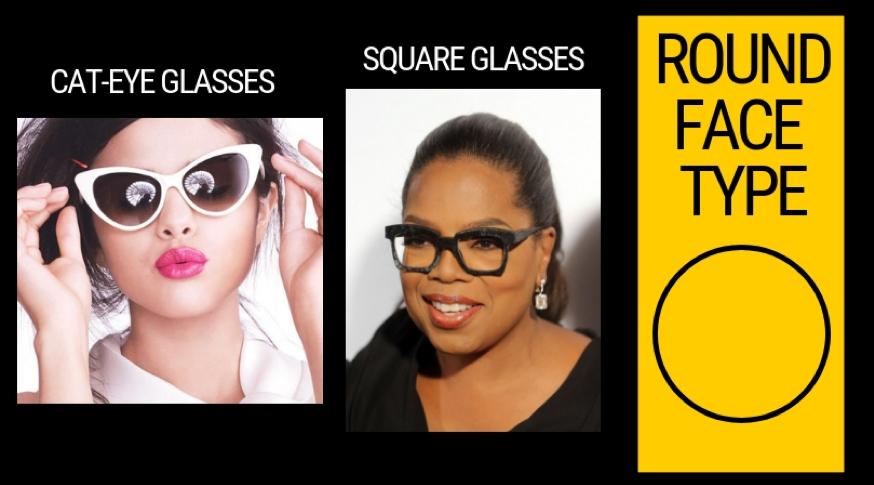 Eyewear for round face