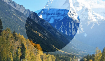 mirrored Enhanced visibility