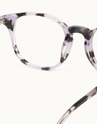 Keyhole Pastel Purple Tortoise Glasses