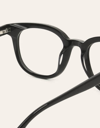 Wayfarer Black Vintage Glasses