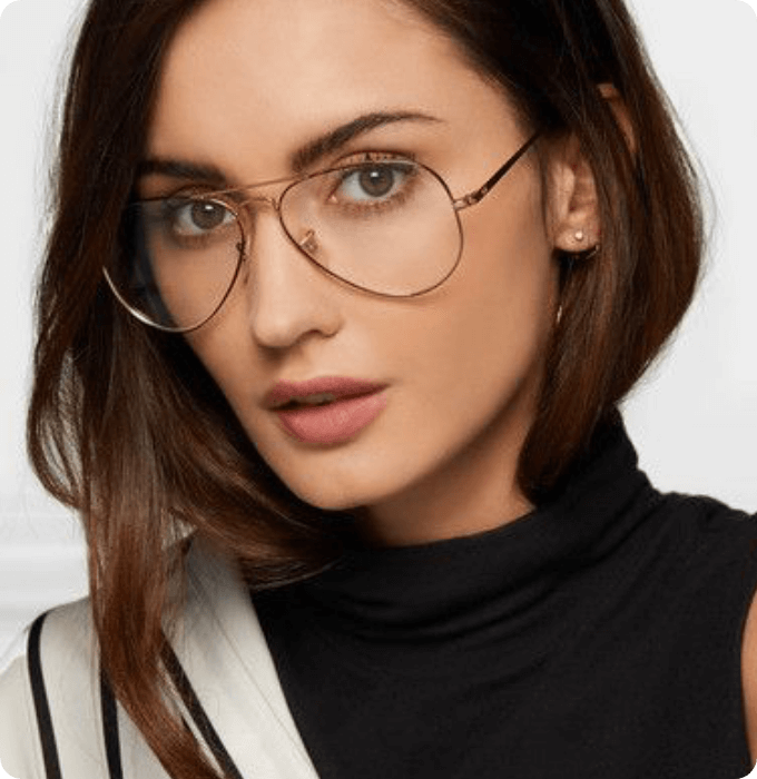 Aviator Oversized Glasses