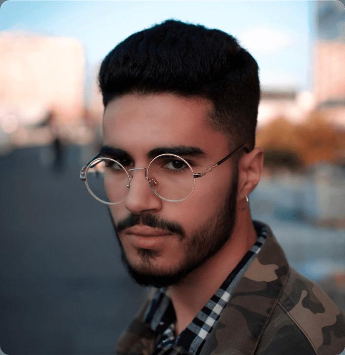 Oversized Circle Glasses