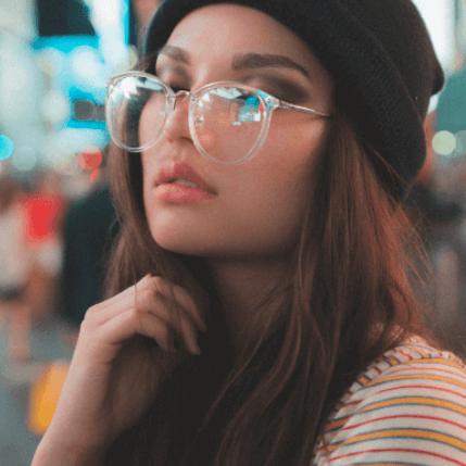 Oversized Glasses Style