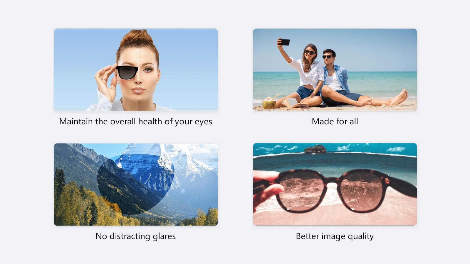 What are the benefits of polarised lenses