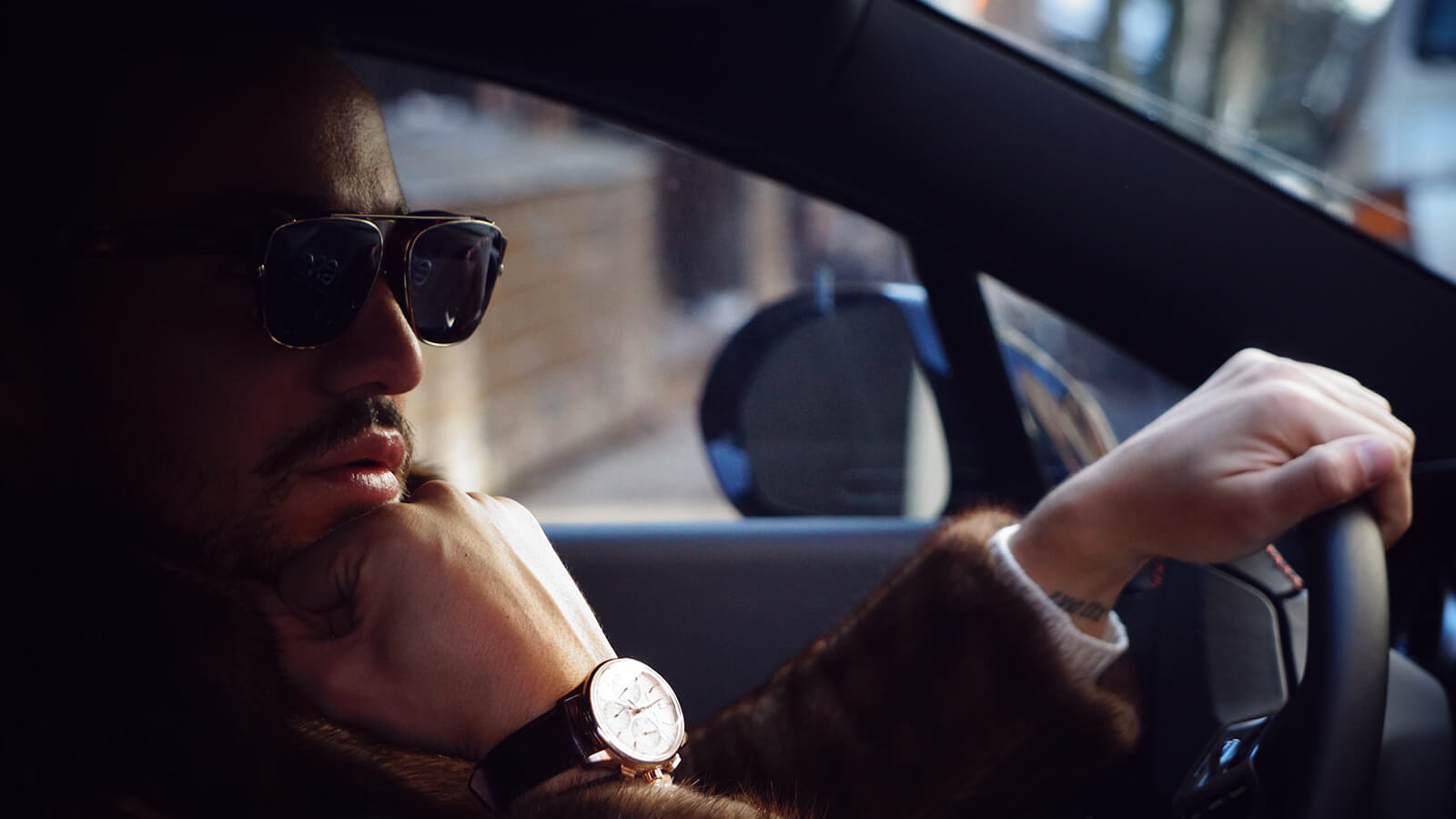 How can sunglasses help with driving