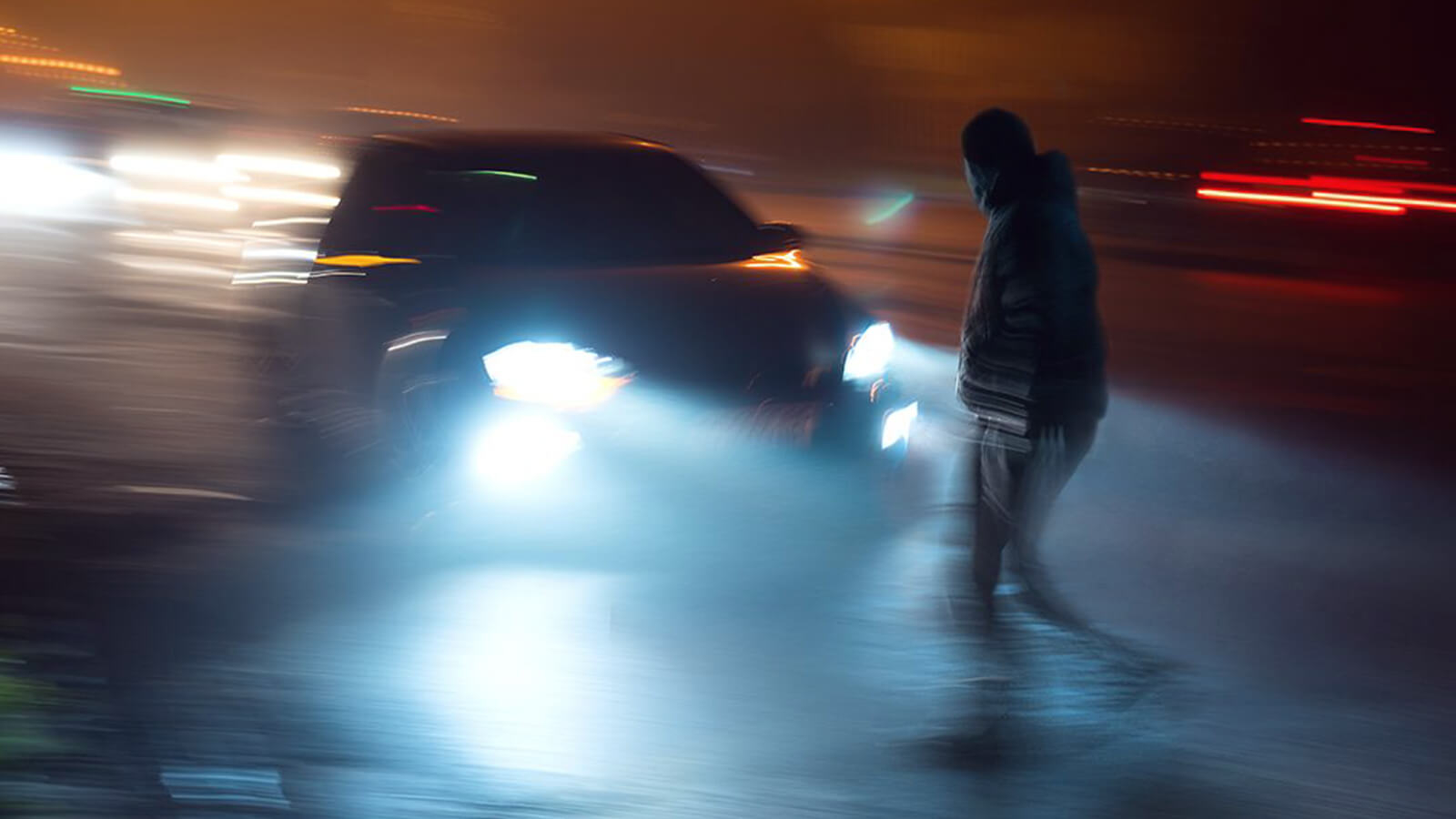 Why is night driving dangerous
