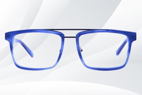 Rectangular Mix Matarial Glasses