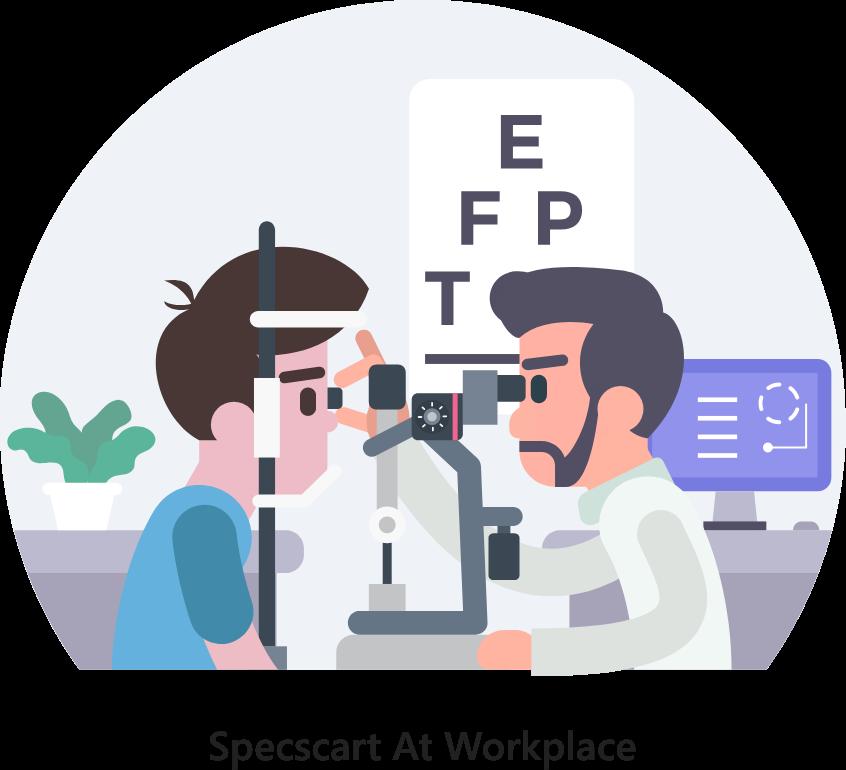 Specscart Corporate Eye Test