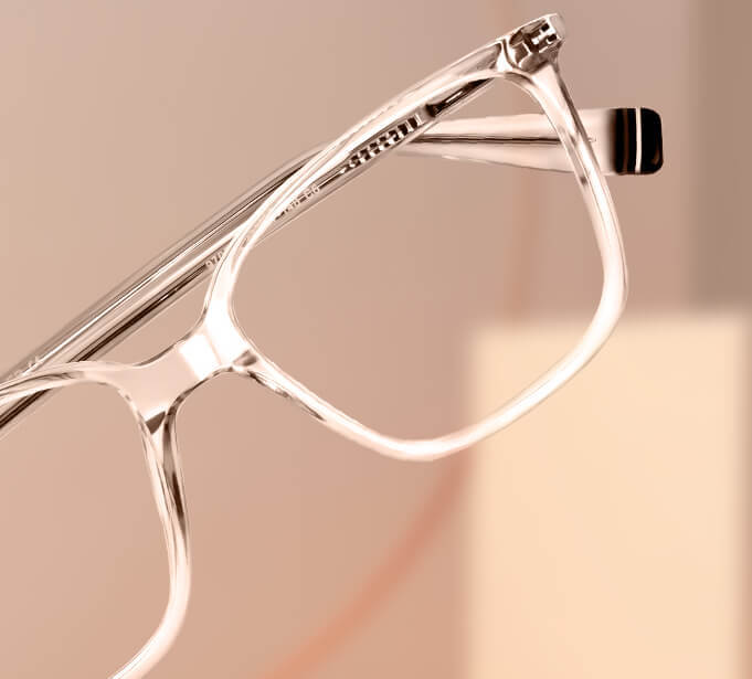 Transparent Cat-eye Glasses