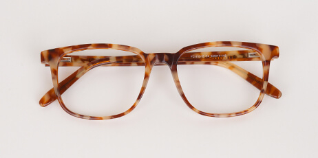 varient leopard glass man