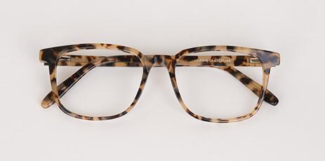 varient leopard glass men