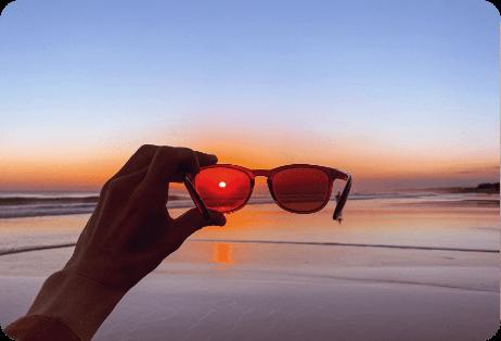 Best fit Keyhole bridge sunglasses_2