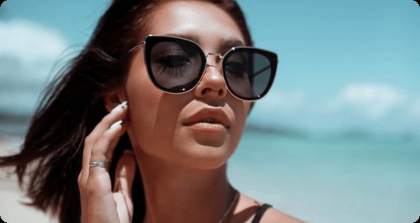 Black Oversized Sunglasses style
