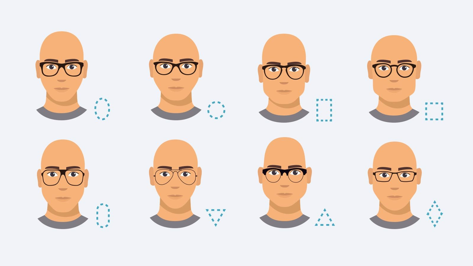 glasses for bald men