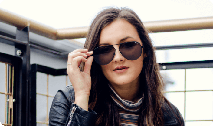 Double Bridge Sunglasses for Women
