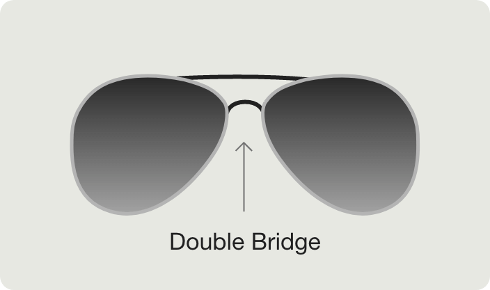 Double Bridge Sunglasses view