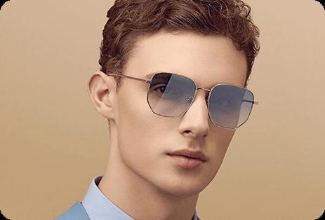 Geometric Sunglasses For men 3