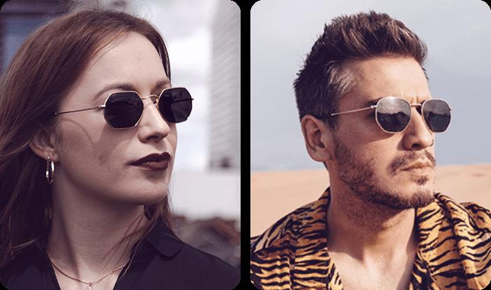 Geometric Sunglasses what a trend 2