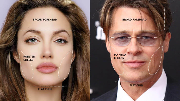 How to find the right glasses for square face shape