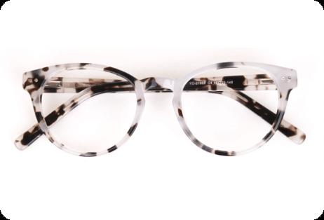 Latest Trend Marble Eyeglasses2
