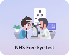 NHS free Eye test