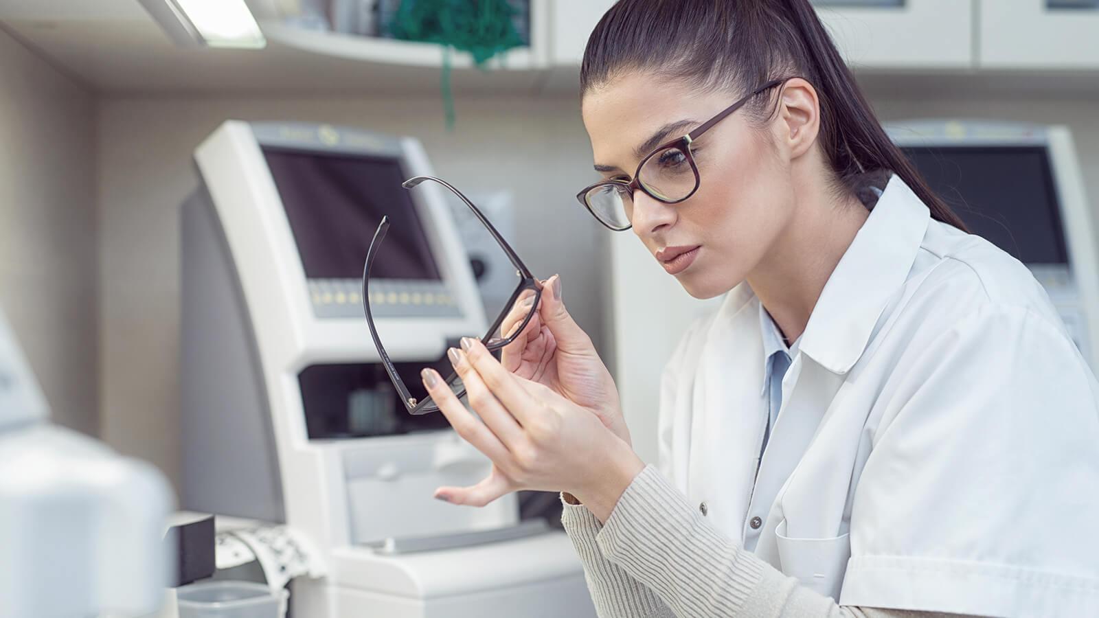 reglaze your old eyeglasses