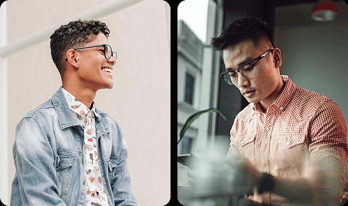 Retro Glasses For Men