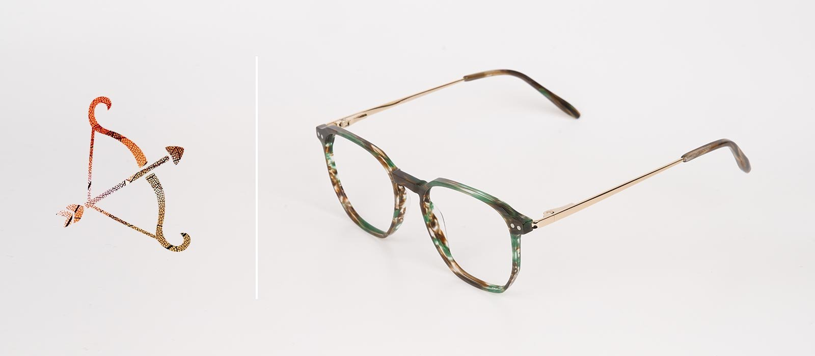 2019 eyewear trends with sagittarius zodiac sign