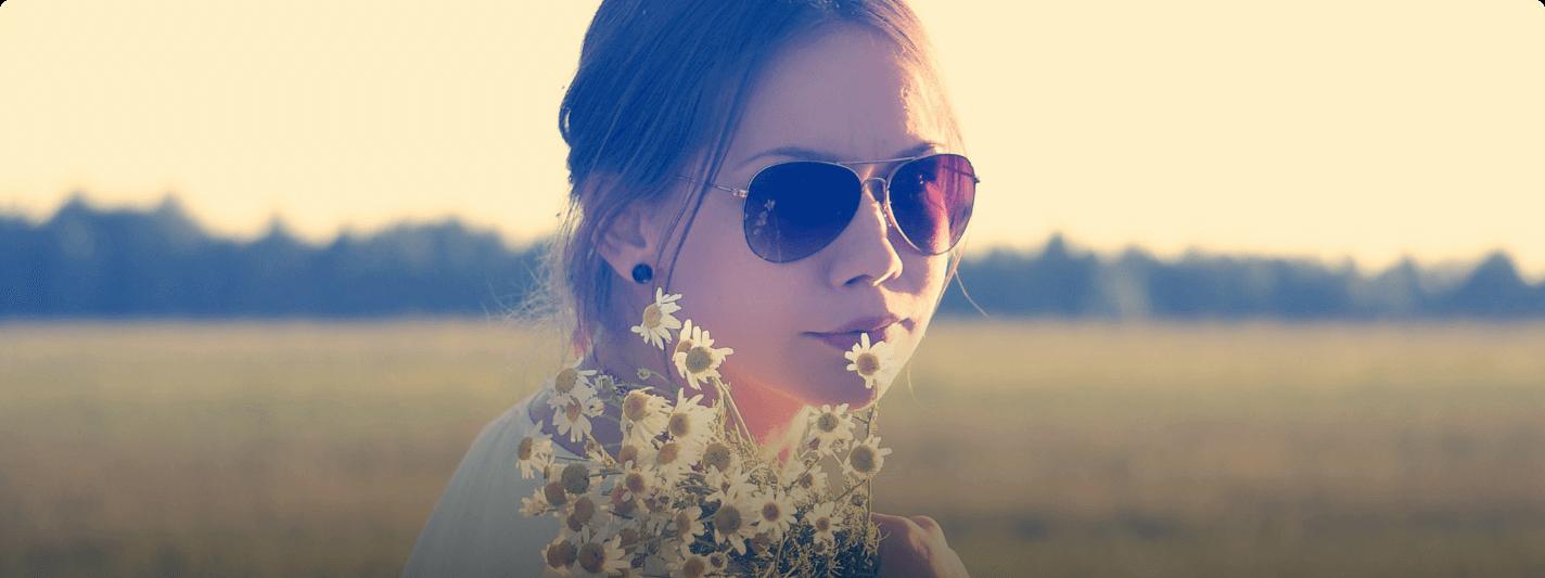 Variations aviator sunglasses